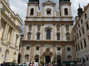 The Jesuit Baroque Church in the heart of the city.