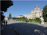 Kunsthistorisches, arguably the premier art museum in Vienna..