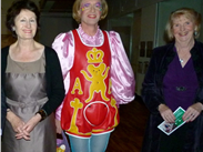 Grayson Perry meeting friends at the Whitworth Art Gallery