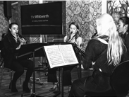The Abelia Saxophone Quartet in the South Gallery