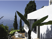 Eileen Gray's Villa E-1027, towards the sea