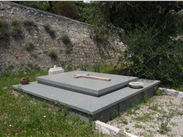 The grave of Matisse and his wife near St Paul de Vence