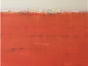 Jules Smith, Red Plain-an evocation of heat in the city