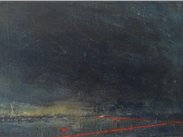 Deborah Grice, The Ebb, oil on board, from The Saul Hay Gallery, Manchester