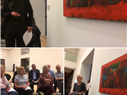 #1: Missing the Art.Friends at our Look Club discussing Howard Hodgkin's Oakwood Court, one of the many works acquired by the Gallery with the help of the FoW