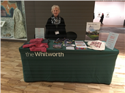 # 11: Missing setting out our Tuesday stall, chatting with people and selling our wares. As a volunteer run organisation all our proceeds go the support the Gallery, its collections and its work
