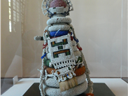The African city with the gallery containing this South Sotho child figure