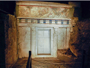 Is this where Philip II of Macedonia was buried?