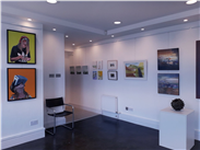Inside the Saul Hay Gallery