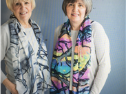 The Whitworth Scarf - winter and summer